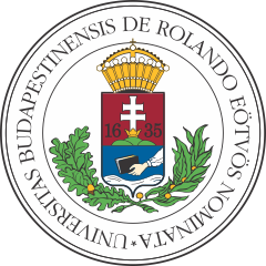 Logo of Eötvös Loránd University